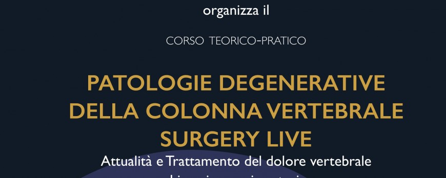 Patologie degenerative della colonna vertebrale