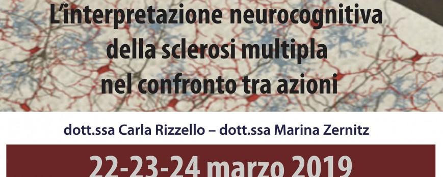L'interpretazione neurocognitiva della sclerosi multipla nel confronto tra azioni.
