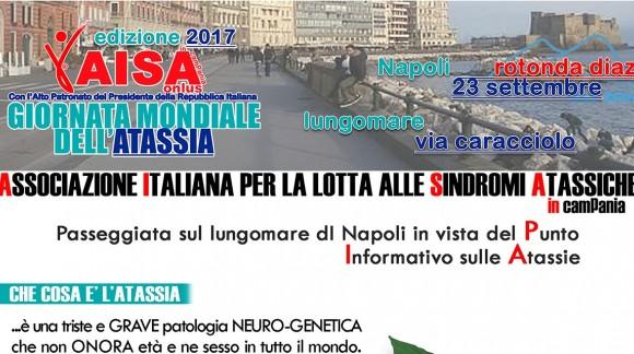 Giornata Mondiale dell'Atassia 2017