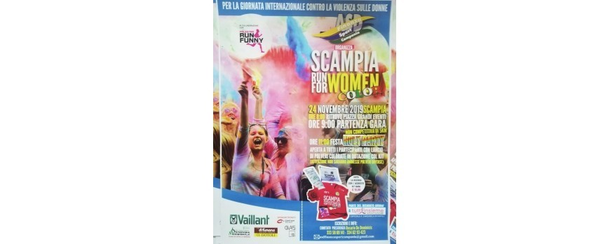 Scampia Run For Women Color