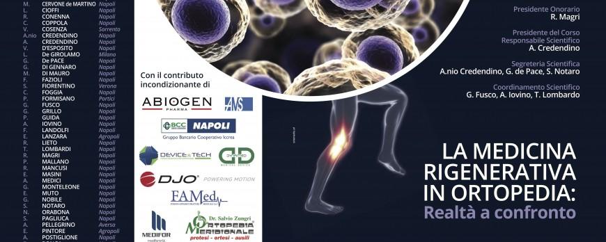 La medicina rigenerativa in ortopedia