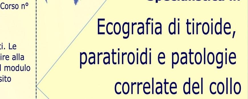 Ecografia di tiroide, paratiroidi e patologie correlate del collo