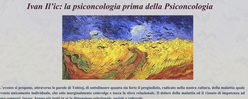 Ivan Il'c: la psiconcologia prima della Psiconcologia