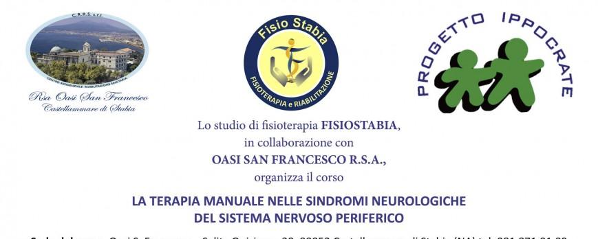 La terapia manuale nelle sindromi neurologiche del sistema nervoso periferico.