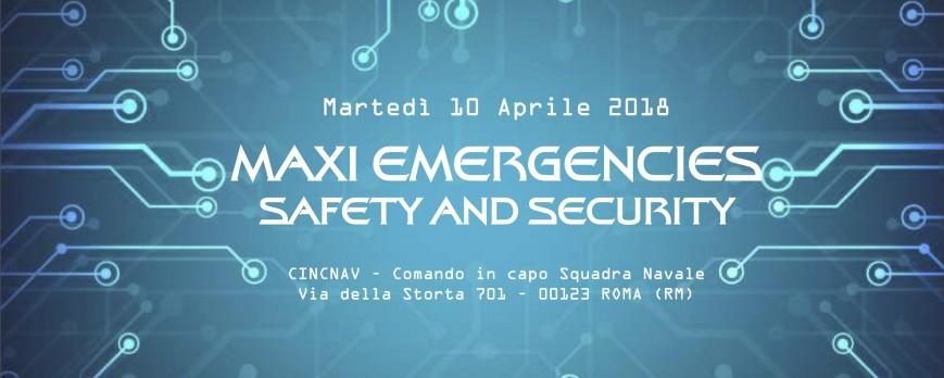 Maxi Emergencies - Safety ad Security
