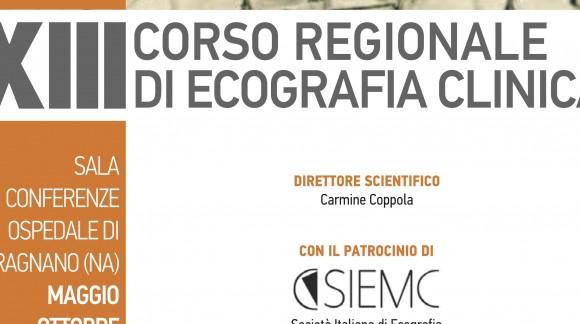 XIII Corso Regionale di Ecografia Clinica