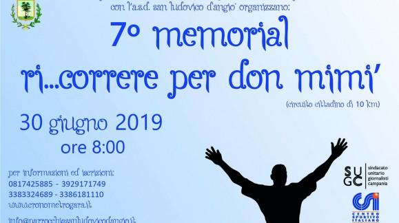 7^ memorial Ri...correre per Don Mimì.