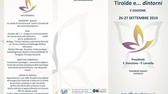 Tiroide e dintorni V edizione